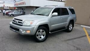 2004 TOYOTA 4RUNNER LIMITED V8 4X4 LEATHER SUNROOF