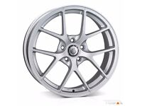 "18"" Cades Shift Alloy Wheels and Tyres for 5x112 VW Audi Seat Etc"
