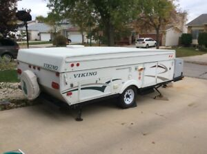 2008 viking legend 2485 sst tent trailer with slideout