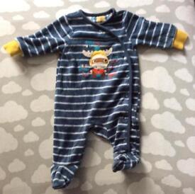 Moose sleep suit. New baby.