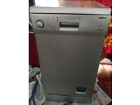 Dishwasher, Beko, grey, 46cm x 60cm x 86cm £15