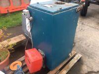 Warmflow 90/120 oil boiler