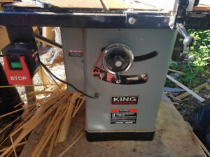 "10"" Industrial King Table Saw"