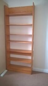 Good quality pine shelves.