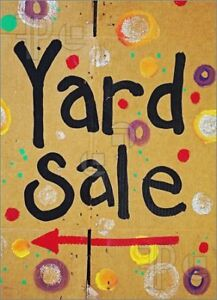Yard Sale! 19 Beech Hill Drive Lake Echo