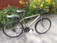 MOUNTAIN BIKE WITH MUDGUARDS,STAND,ETC.