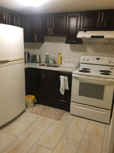 2bedrooms basement apartment for rent McCowan and Lawrence