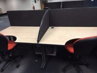 office furniture 1.4 radial desk