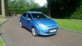 2009 Ford Fiesta 1.4 Titanium petrol 5 door hpi clear New timng belt