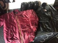 2 jackets worn once