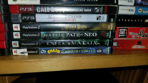PlayStation PS3 PS2 video games