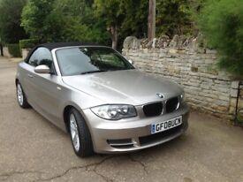 BMW 1 series convertible 120i SE