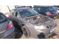 2004 SAAB 9-3 VECTOR 150 BHP, BREAKING FOR PARTS ONLY, POSTAGE AVAILABLE NATIONWIDE