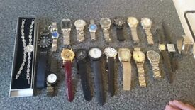 Job lot watches - ideal car boot