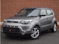 2016 16 Kia Soul 1.6 CRDi Connect 5dr (Grey, Diesel)