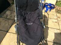 Cosy toes sleep buggy zip bag