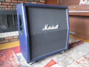 Marshal 425A 4x12 cabinet, with NO speakers