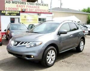 """NO ACCIDENT"" 2014 NISSAN MURANO S AWD AUTO LOAD 100% FINANCING"