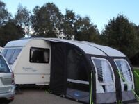 Kampa Rally Air Pro 260 caravan Awning with pump,curtains, pegs,carry bag for sale £350