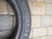 255 40 18 Continental Contact SSR Tyre