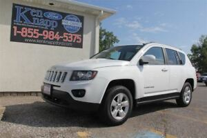 2014 Jeep Compass Sport/North | LEATHER