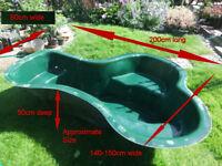 Fish Pond (fibreglass 2m x 1.5m x 0.5m)