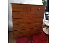 Two chest drawer