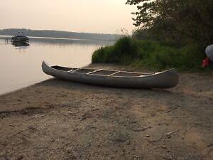 17' Grumman Aluminum Canoe