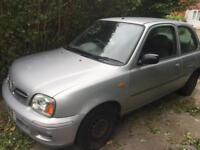 Nissan Micra Vibe 1.0 with MOT