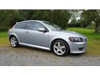 Volvo C30 2.0D Powershift R-Design Sport - 3 Door Hatchback Silver - Automatic