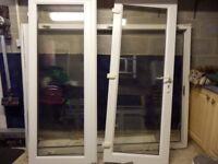 uPVC double patio doors