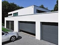 garage doors insulated 40mm sectional for air tightness and a - rating
