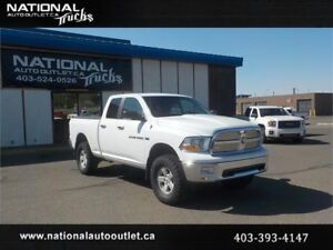 2011 Dodge Ram 1500 SLT QUAD CAB BRAND NEW 4 INCH LIFT