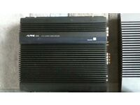 CAR AMPLIFIER,ALPINE 3555 OLD SCHOOL,VERY RARE TO SEE ONE ON SALE,USED BUT IN VERY GOOD CONDITION.