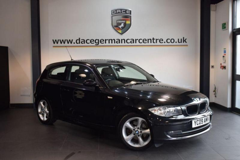 2009 09 BMW 1 SERIES 2.0 118D SPORT 3DR 141 BHP DIESEL