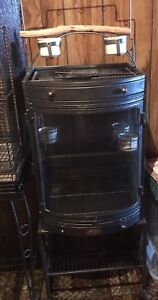 Bow front bird cage for sale