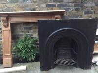 Fire place and fire surround