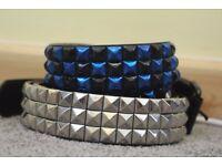 Studded leather belts/punk/heavy metal