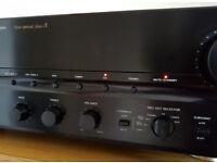 denon pma880r class a amp turntable input