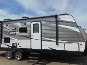 2017 COLEMAN 244 BH - FULL COLEMAN LANTERN PACKAGE! BUNK BEDS!