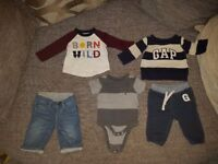 Baby Gap 3-6 Month Boys Clothing 5 Items