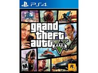 Looking for gta v ps4