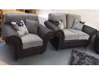 Sofa suite - BRAND NEW - 2+1, £599 for the set.