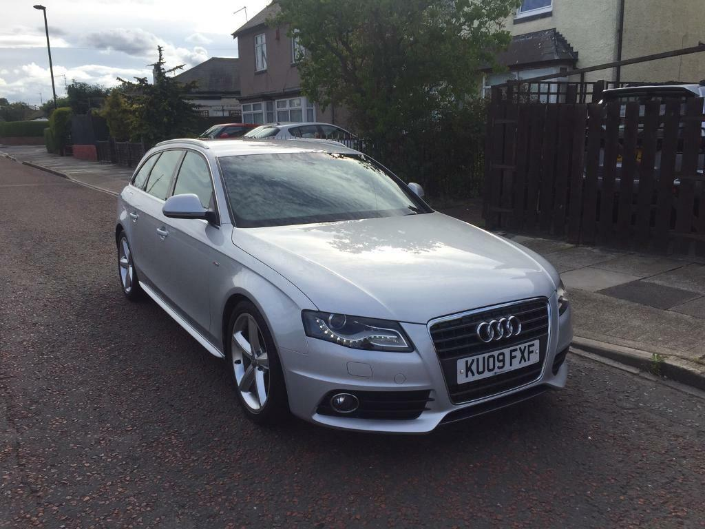 2009 audi a4 b8 2 0 tdi sline avant silver in wallsend tyne and wear gumtree. Black Bedroom Furniture Sets. Home Design Ideas