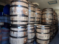 LOOK > 220 x Oak Bourbon Whiskey Barrels & 90 x Oak Wine Barrels