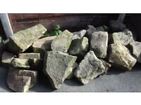Selection of Various Sized Rockery Stones