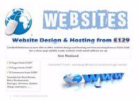 Website Design from GBP129