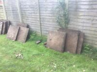 25 concrete Paving slabs 60x60cm buyer collects