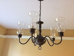 Beautiful Williamsburg Dining Room light