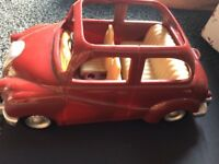 FOR SALE: Sylvanian families burgundy car